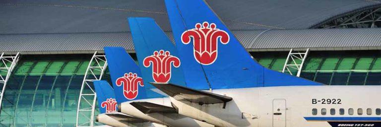 Guangzhou Baiyun International Airport Vorfeld mit Flugzeugen von China Southern Airlines © China Southern Airlines