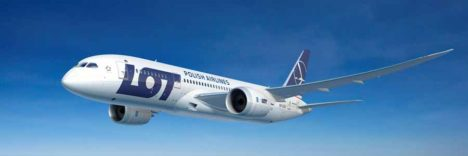 LOT Polish Airlines Boeing 787 Dreamliner © LOT Polish Airlines