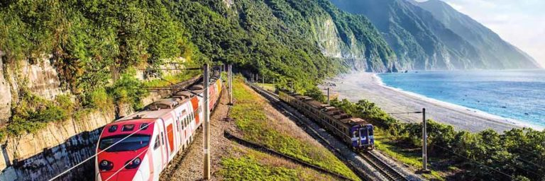 Zug bei Hualien © Taipeh Tourismusbüro